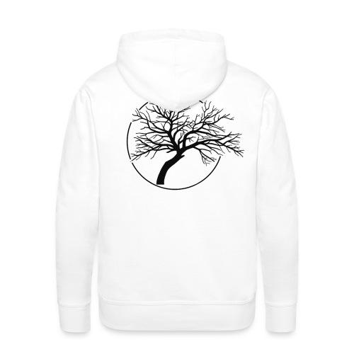 Vain and Hopeless - Tree icone_bk - Sweat-shirt à capuche Premium pour hommes