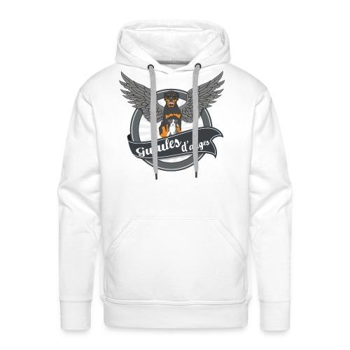 Logo1 sans molosse png - Sweat-shirt à capuche Premium pour hommes