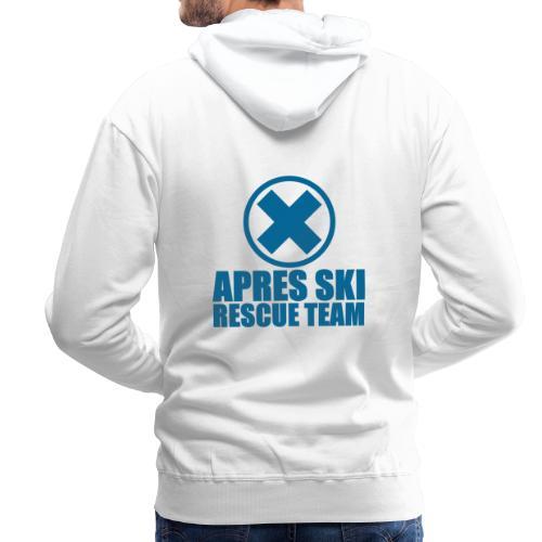apres-ski rescue team - Mannen Premium hoodie
