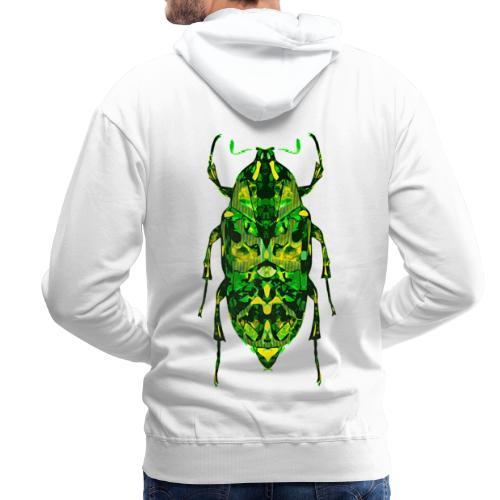 insect groen fantasie digitaal - Mannen Premium hoodie