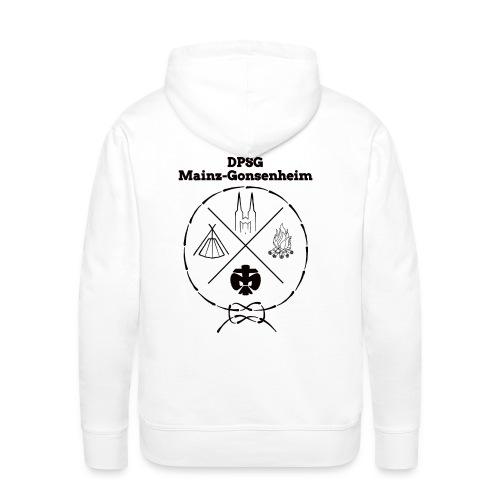 DPSG Mainz-Gonsenheim Hipsterlogo - Männer Premium Hoodie