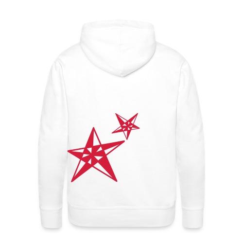 spookstar small - Sweat-shirt à capuche Premium pour hommes