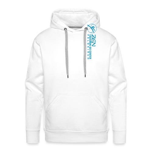 logo wortbild quer - Männer Premium Hoodie