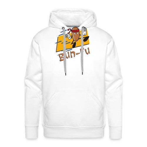 La leggenda di Bun Fu panino kung fu (Doubleface) - Felpa con cappuccio premium da uomo
