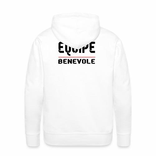 equipe benevole - Sweat-shirt à capuche Premium pour hommes