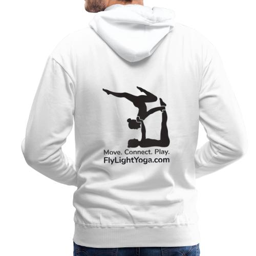 AcroYoga: Move Connect Play - Men's Premium Hoodie