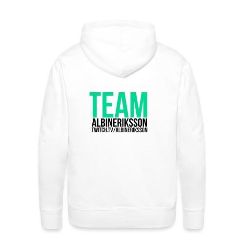 Team albinerikss0n Svart - Premiumluvtröja herr