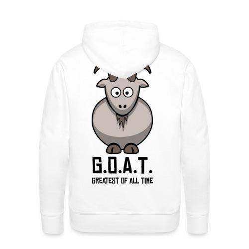 goat eggs - Men's Premium Hoodie