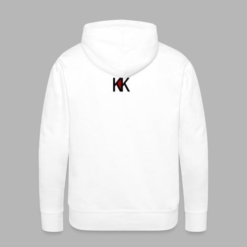 NEEL KK - Bluza męska Premium z kapturem