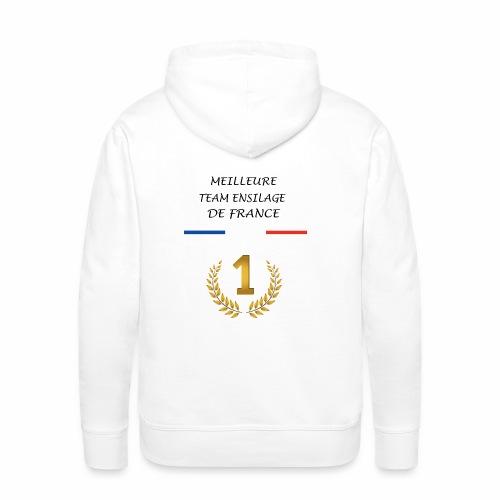 TEAM ENSILAGE - Sweat-shirt à capuche Premium pour hommes