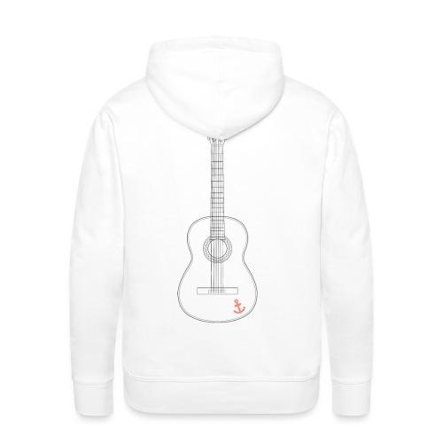 Guitar - Männer Premium Hoodie