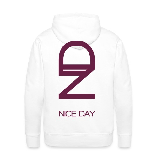 violet png - Sweat-shirt à capuche Premium pour hommes