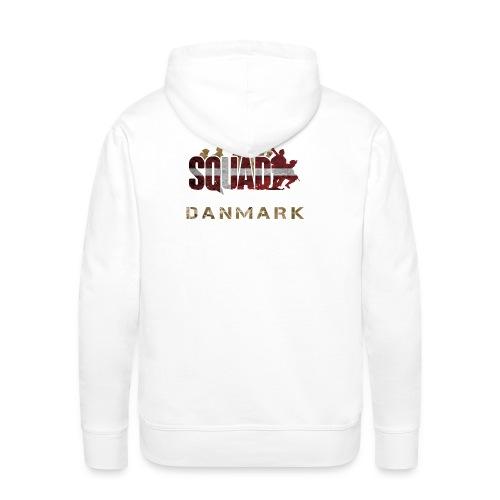 Squad Danmark - Herre Premium hættetrøje