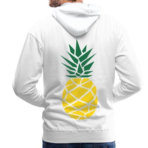 Pineapple - Mannen Premium hoodie