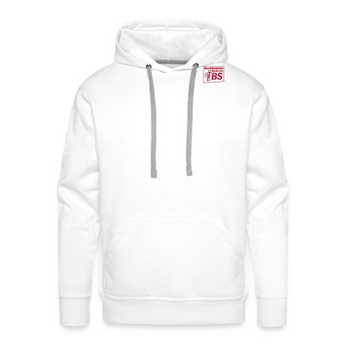 EBS Logo rot png - Männer Premium Hoodie