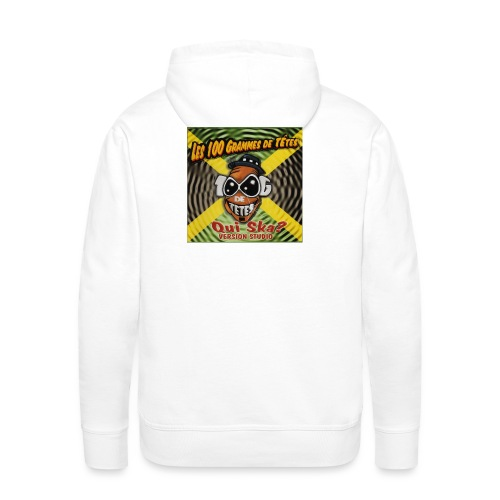 qui ska copie jpg - Sweat-shirt à capuche Premium pour hommes