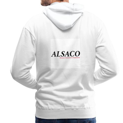 Alsaco original - Sweat-shirt à capuche Premium pour hommes