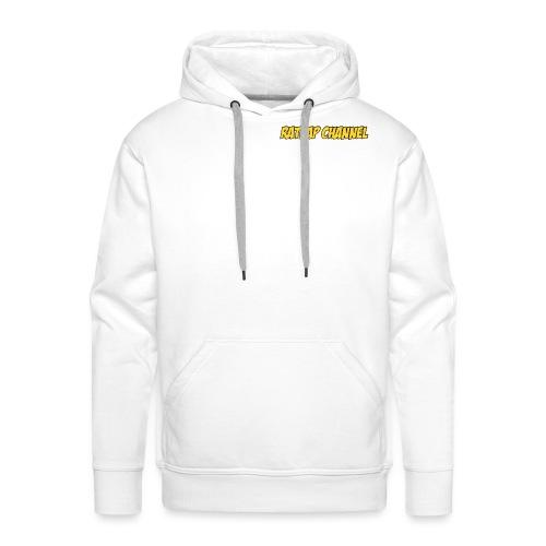 Ratrap Channel Wording - Sweat-shirt à capuche Premium pour hommes