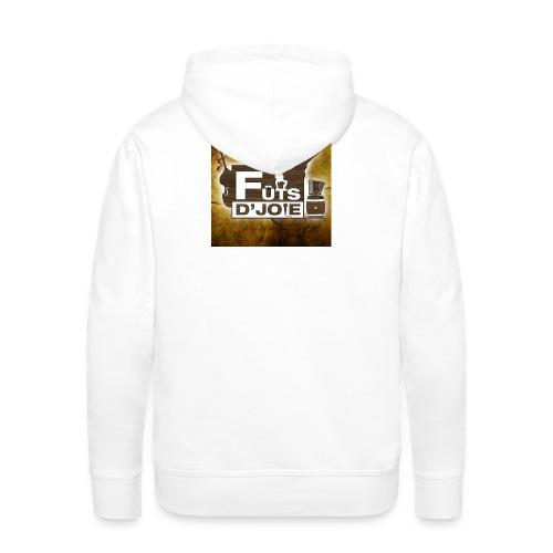 Logo Futs D Joie - Sweat-shirt à capuche Premium pour hommes