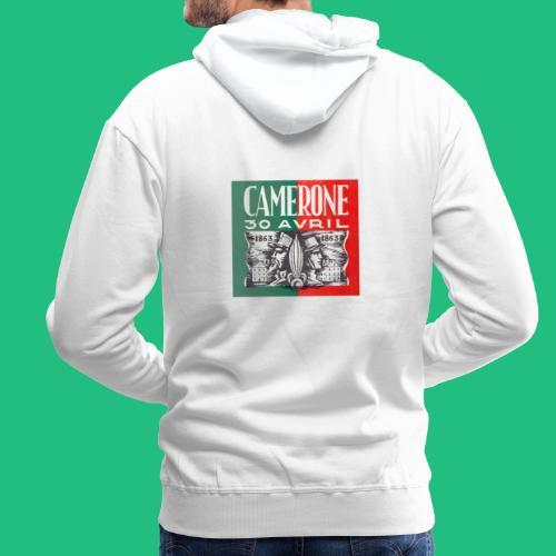 CAMERONE 1863 - Sweat-shirt à capuche Premium pour hommes