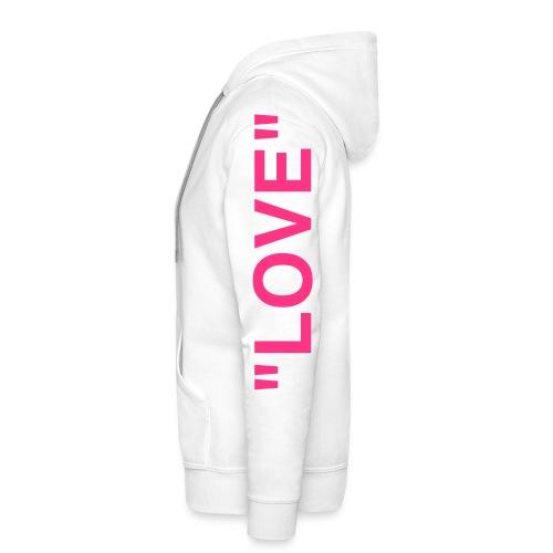 Love hoch - Männer Premium Hoodie