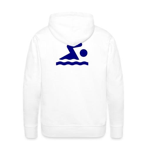 solo swimmer logo md png - Men's Premium Hoodie