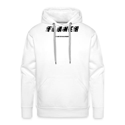 Logo Flaner Noir - Sweat-shirt à capuche Premium pour hommes