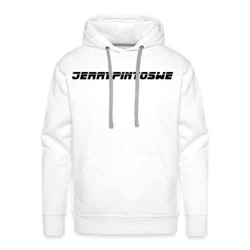 Jerrypintoswe logo black - Premiumluvtröja herr