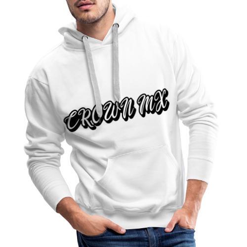 Crown MX Hoodie Handwrite - Männer Premium Hoodie