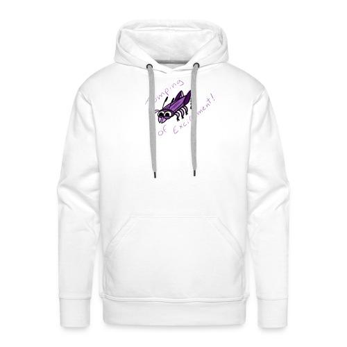 Insectops #4 Sauterelle - Sweat-shirt à capuche Premium pour hommes