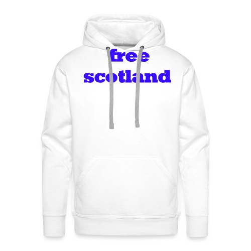 free scotland - Men's Premium Hoodie