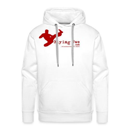flyinguwe logo vektor kopie - Männer Premium Hoodie