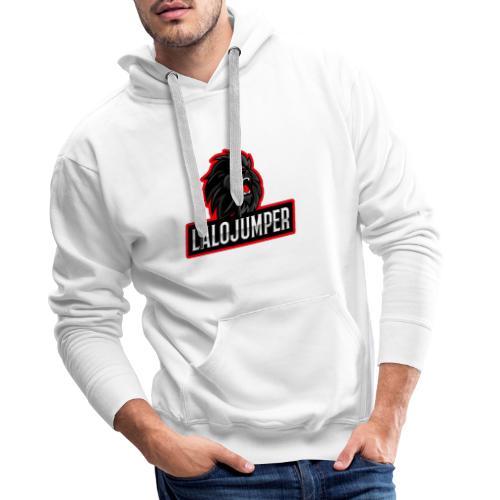 Logo Lalojumper - Sudadera con capucha premium para hombre