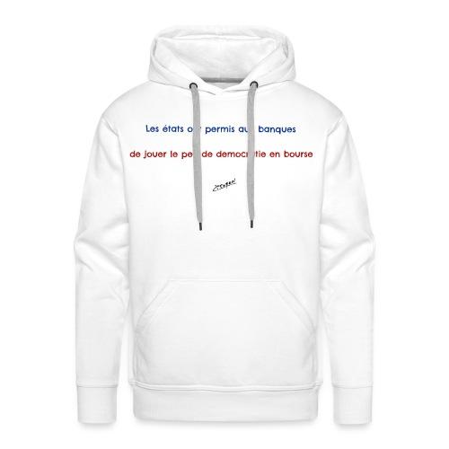 Citoyen 2 - Sweat-shirt à capuche Premium pour hommes