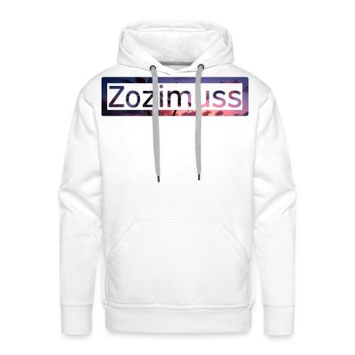 Zozimuss sunset. - Men's Premium Hoodie