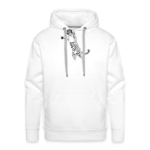 tiger - Sweat-shirt à capuche Premium pour hommes