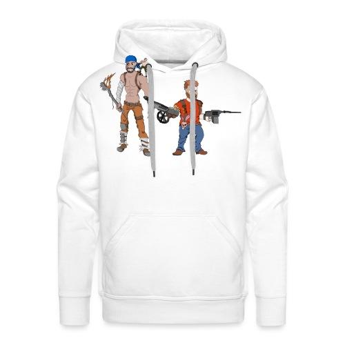 Das Apokalypse Duo Flaul - Männer Premium Hoodie