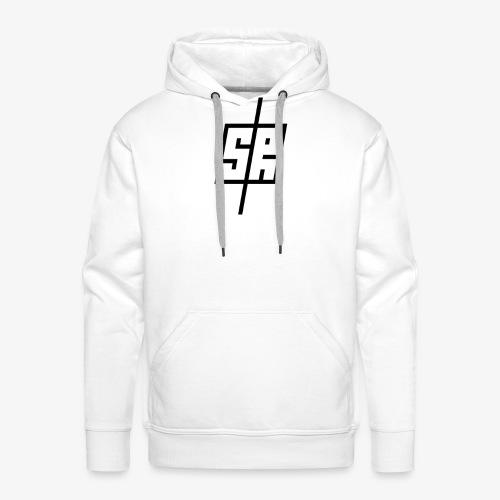 Black Logo (No Background) - Men's Premium Hoodie