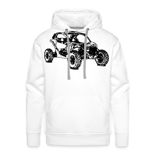 Side by Side car Offroad - Männer Premium Hoodie