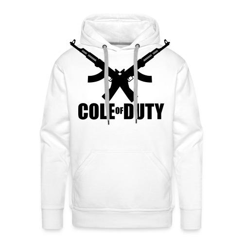 cole of duty vector - Men's Premium Hoodie