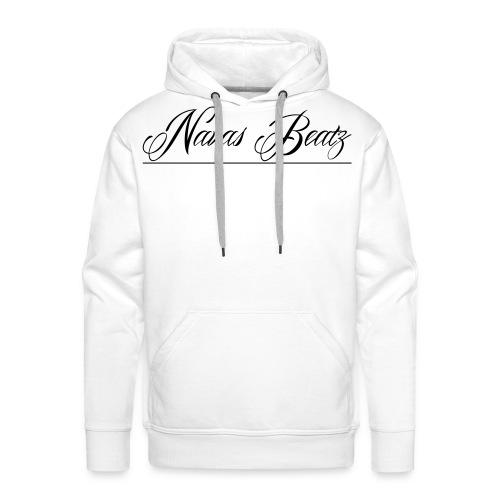 NB Schriftzug Vektor - Männer Premium Hoodie