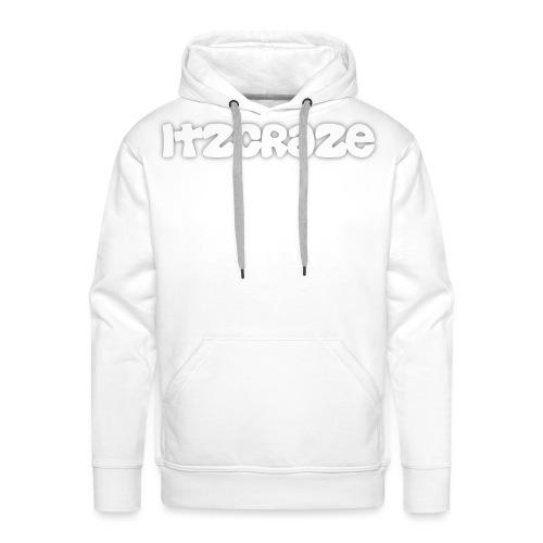 itzcraze apparel white png - Men's Premium Hoodie