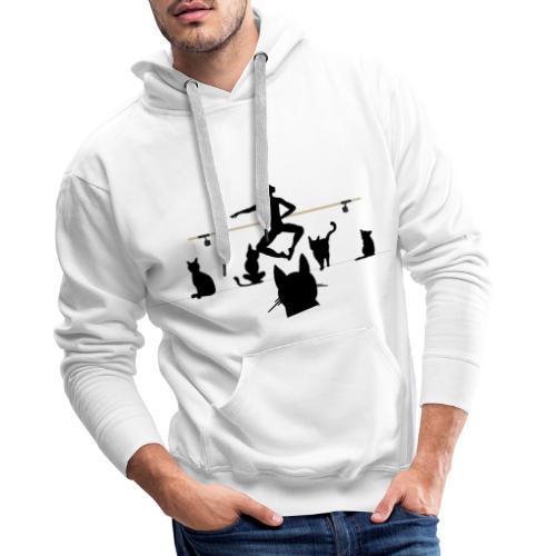 Entrechat - Sweat-shirt à capuche Premium pour hommes