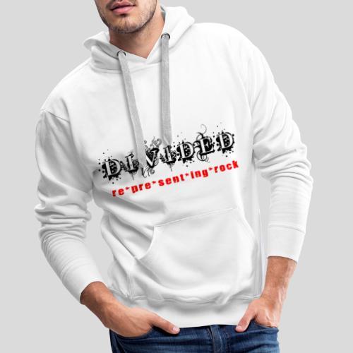 Divided - re*pre*sent*ing*rock - Männer Premium Hoodie