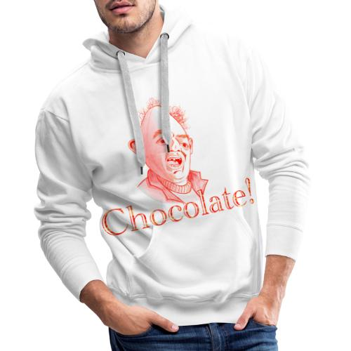 Sloth loves Chocolate - Sloth liebt Schokolade - Männer Premium Hoodie
