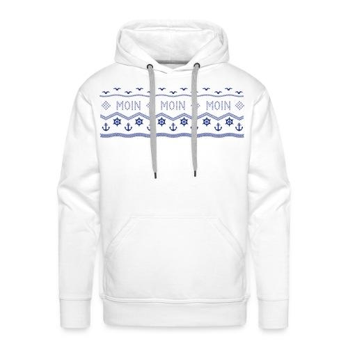 Muster Nordisch Maritim - Männer Premium Hoodie
