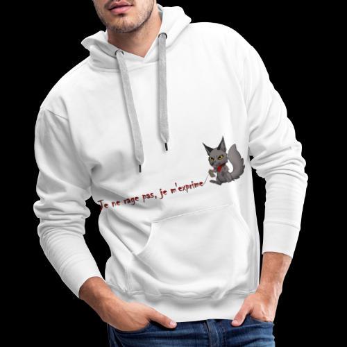 RavenWolfire Design - Sweat-shirt à capuche Premium pour hommes