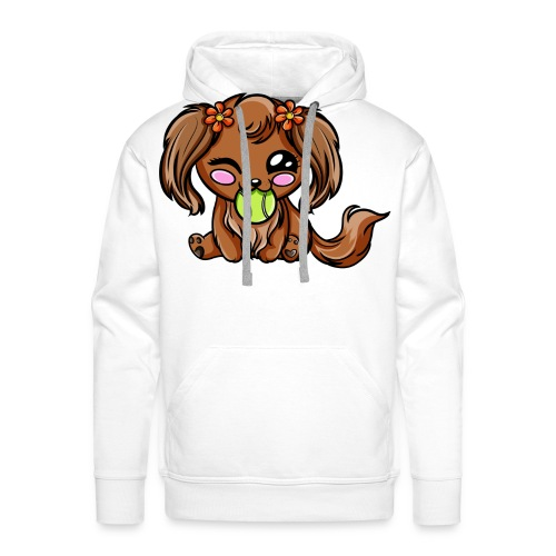Puppy Dog Kawaii - Sweat-shirt à capuche Premium pour hommes