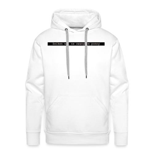 quote 1 - Mannen Premium hoodie
