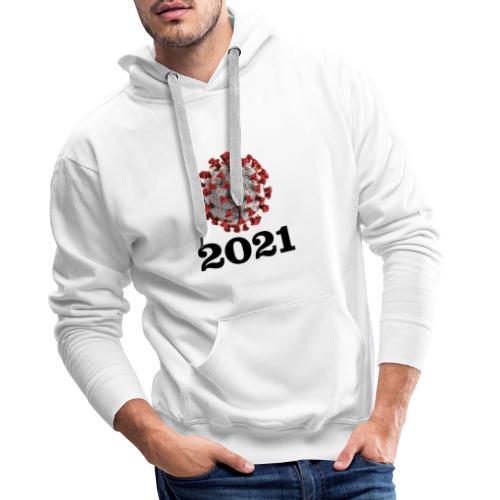 Virus 2021 - Männer Premium Hoodie